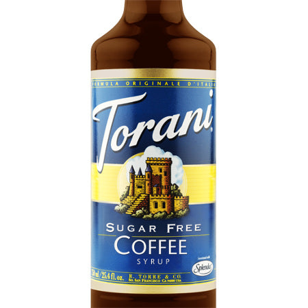 Torani Sugar Free Coffee Flavoured Syrup 750 mL