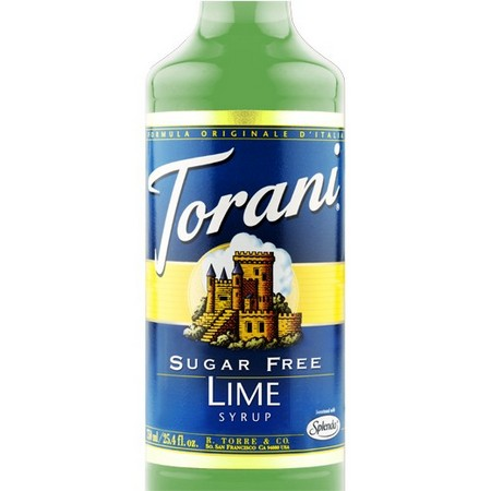 Torani Sugar Free Lime Syrup 750 mL