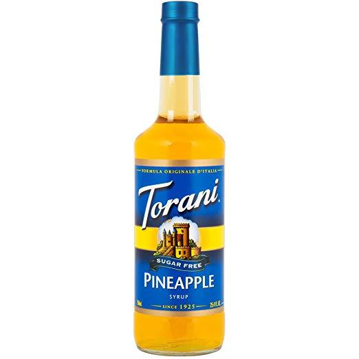 Torani Sugar Free Pineapple Syrup 750 mL