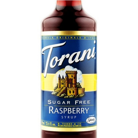 Torani Sugar Free Raspberry Syrup 750 mL