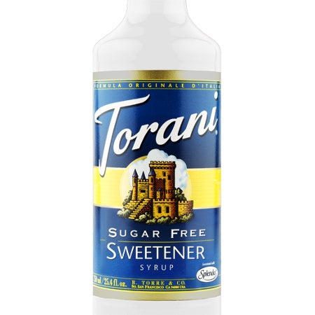 Torani Sugar Free Sweetener Syrup 750 mL