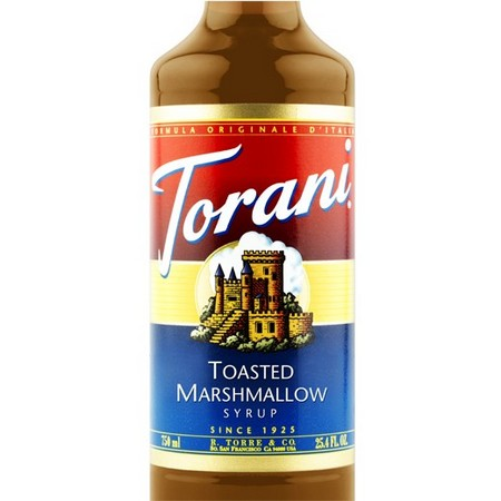 Torani Toasted Marshmallow Syrup 750 mL