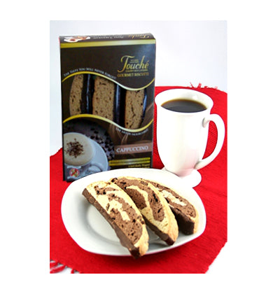 White Chocolate Ginger Biscotti 12 Pack