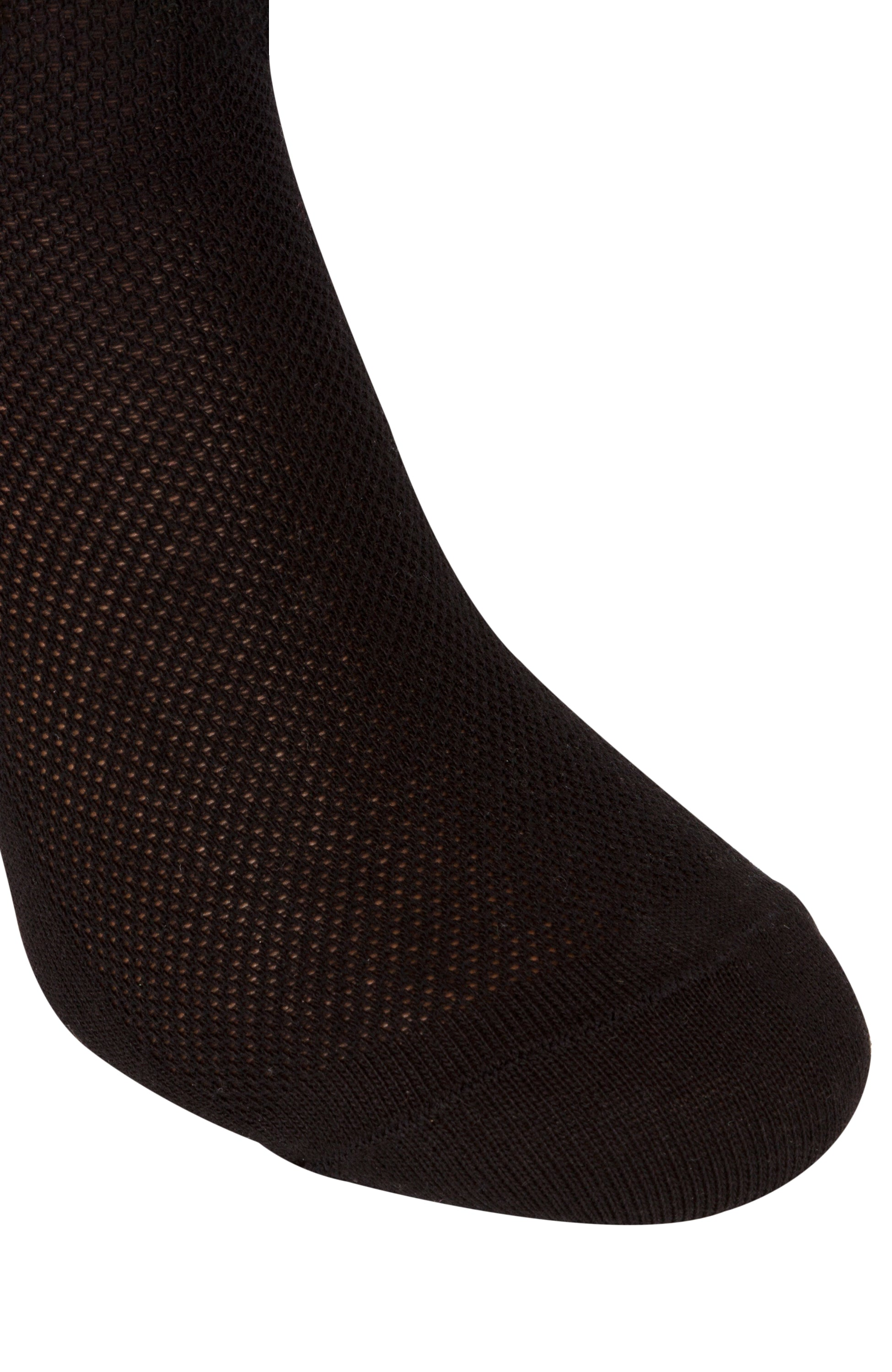 Summer Dress Socks for Men, 3 packs Thin Breathable Crew Black Socks, AIR SOCKS
