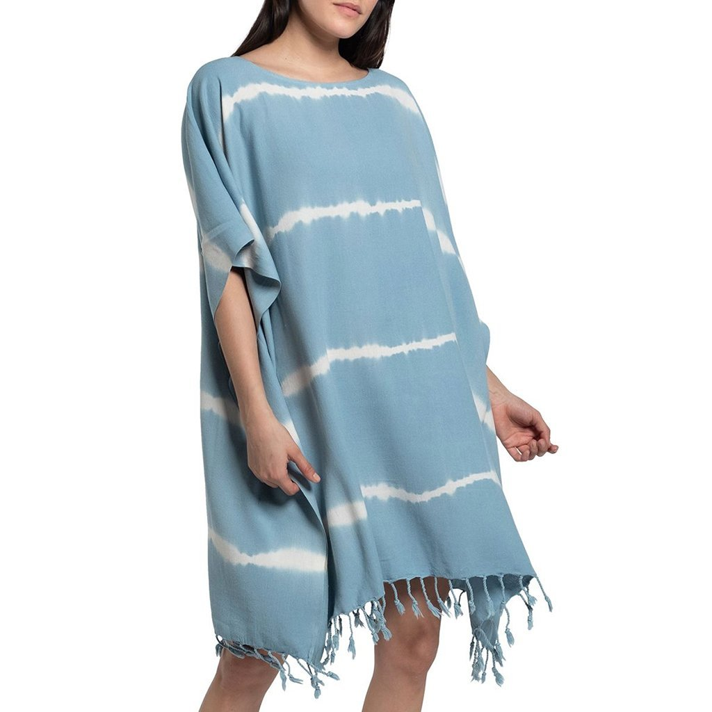 Sky Blue Tie Dye Turkish Tunic