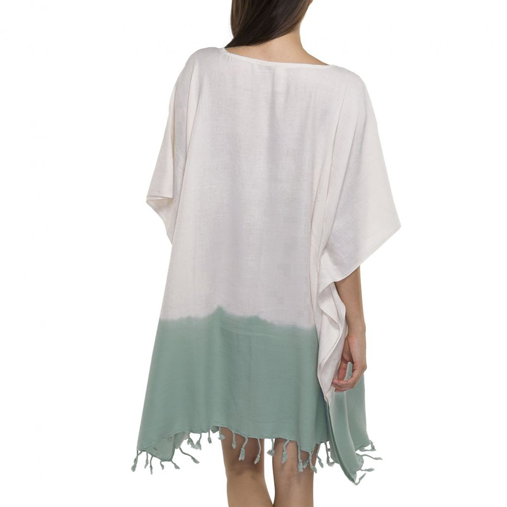 Mint Dip Dye Turkish Tunic