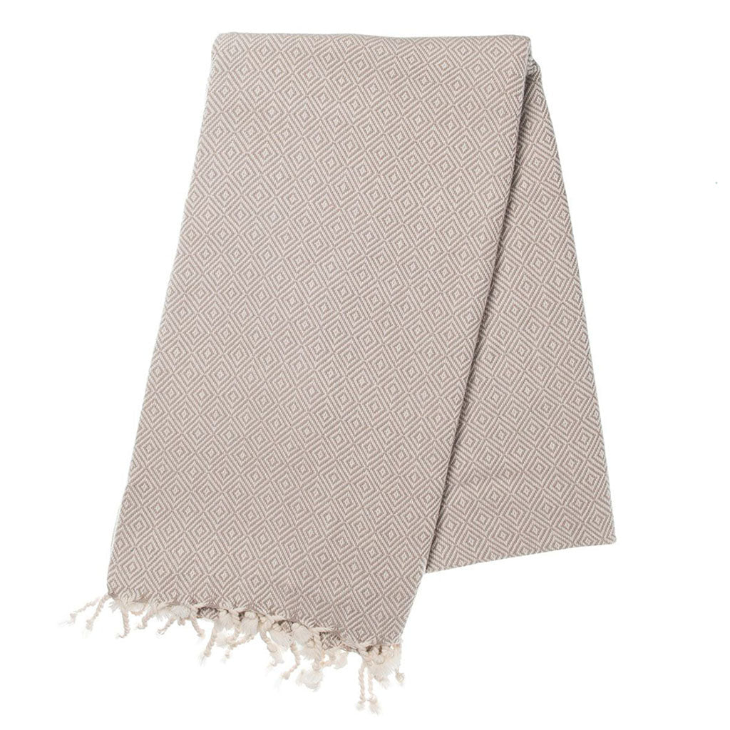 Sand Diamond Turkish Towel