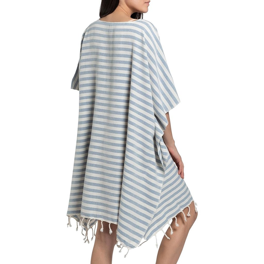 Ocean Nautical Stripe Turkish Tunic