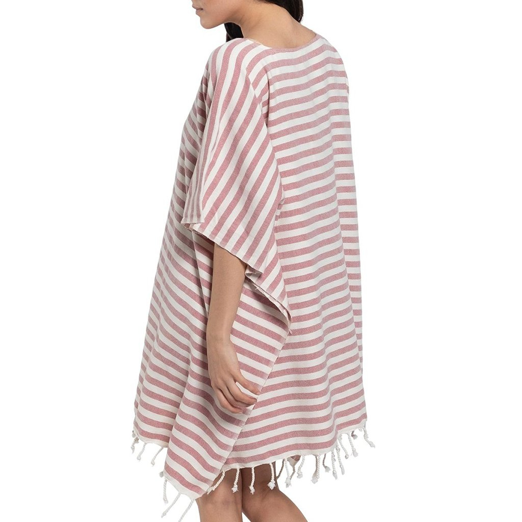 Rose Nautical Stripe Turkish Tunic