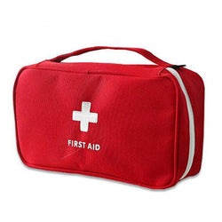 Portable First Aid Emergency Bag – Medical Kit and Medicine Storage Bag For Home and Travel
