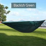 Portable Nylon Unique Personal Parachute-Style Hammock – 17 Colors