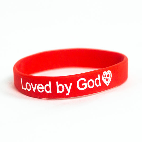 Loved by God Wristband