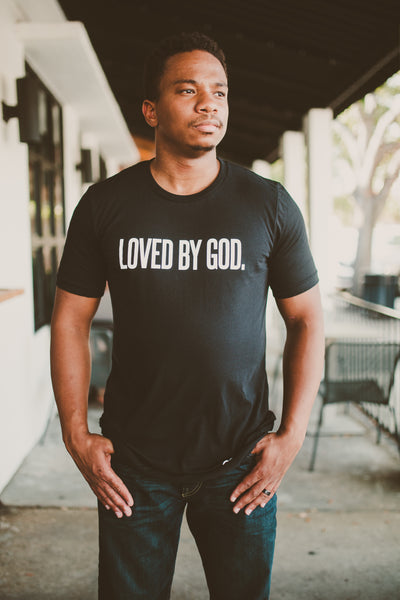 Loved by God Black Tee