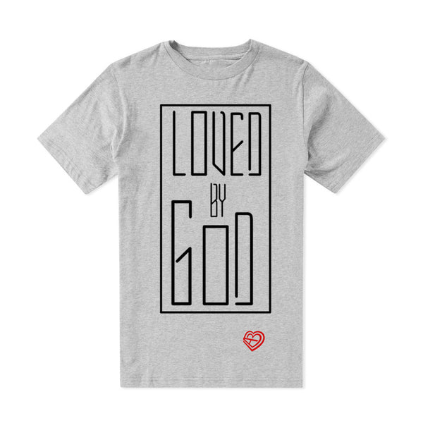 Loved by God Grey Tee