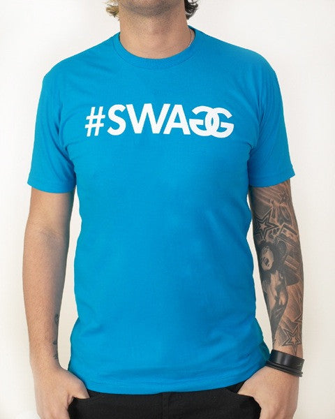 Pauly D SWAGG T-Shirt Blue