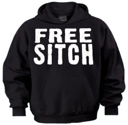 Jersey Shore Free Sitch Hoodie