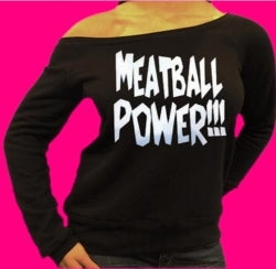 Jersey Shore Family Vacation Meatball Power Off The Shoulder