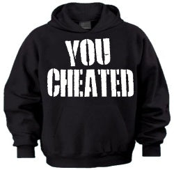 Jersey Shore You Cheated Hoodie