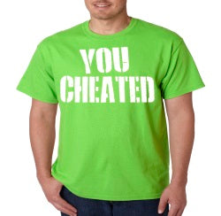 Jersey Shore You Cheated T-Shirt
