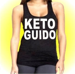 Jersey Shore Family Vacation Keto Guido Burnout Tank Top