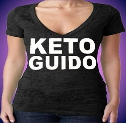 Jersey Shore Keto Guido Burnout V-Neck