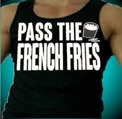 Jersey Shore Family Vacation Pass The French Fries Men's Tank Top
