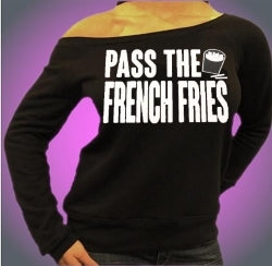 Jersey ShorePass The French Fries Off The Shoulder