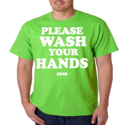 Please Wash Your Hands Coronavirus T-Shirt