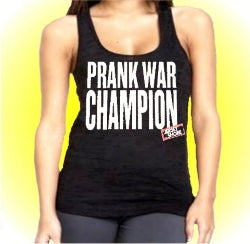 Jersey Shore Prank War Champion Burnout Tank Top
