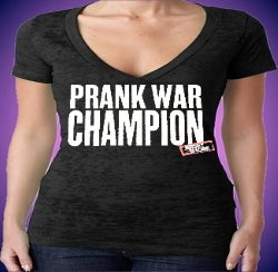 Jersey Shore Prank War Champion Burnout V-Neck