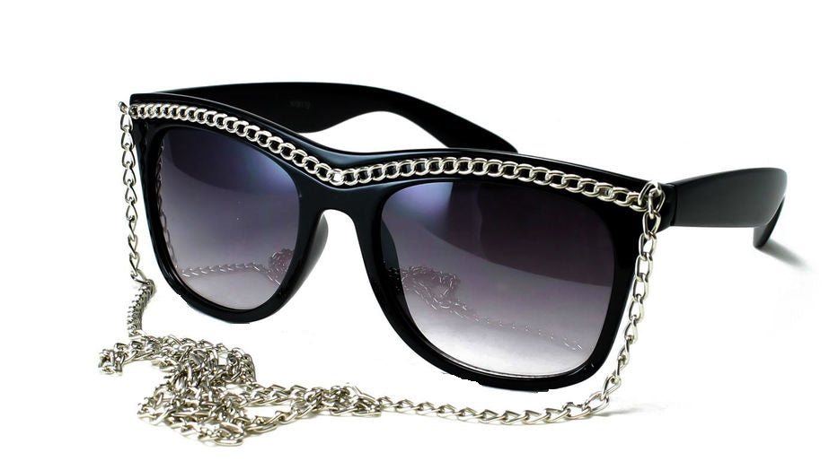 Jersey Shore Snooki's Sunglasses With Chain.
