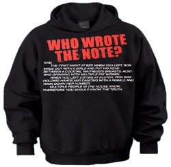 Jersey Shore Who Wrote The Note? Hoodie