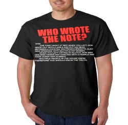 Jersey Shore Who Wrote The Note? T-Shirt