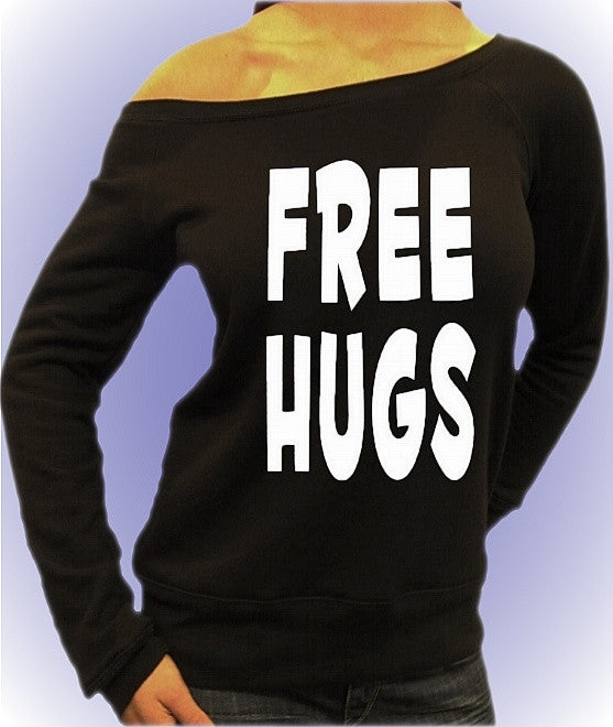 Free Hugs White Off The Shoulder Top