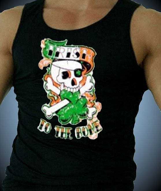 Irish To The Bone  Men's Tank Top