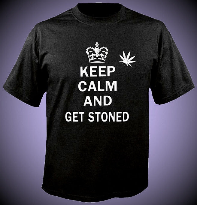 Keep Calm and Get Stoned T-Shirt
