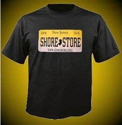 Shore Store License Plate T-Shirt 75