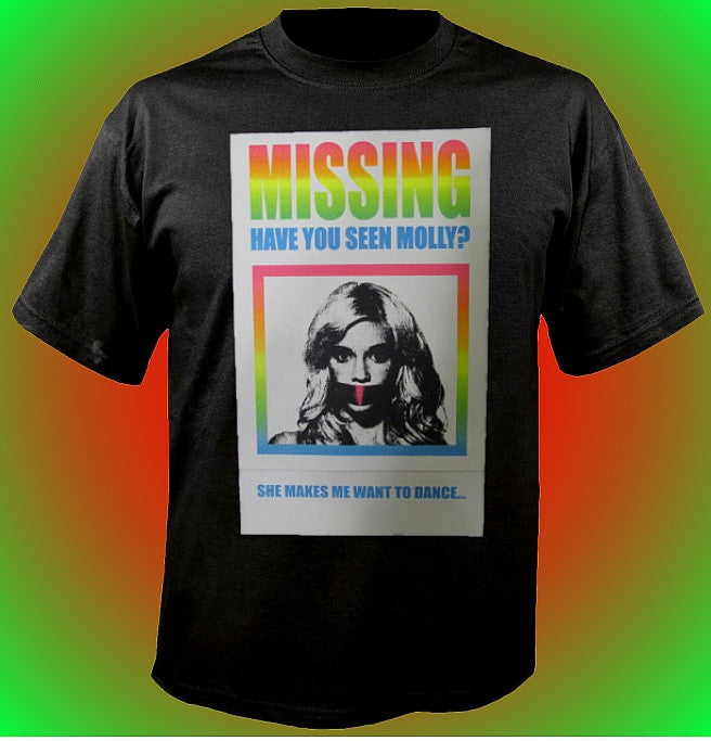 Missing Have You Seen Molly? T-Shirt 634