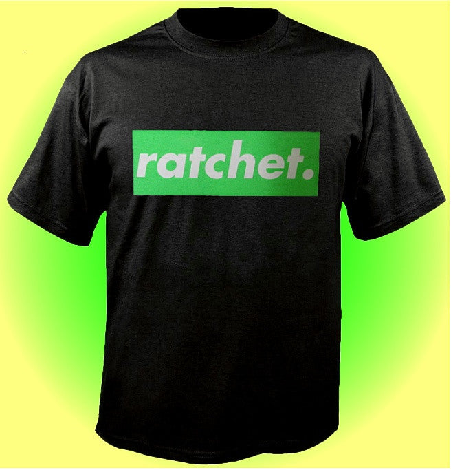 Ratchet. Green T-Shirt 655