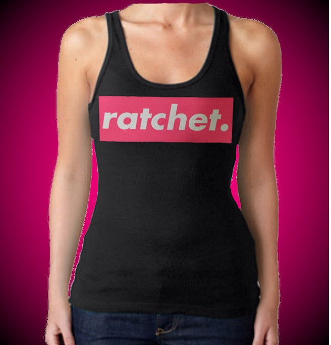 Ratchet. Pink Tank Top W 656