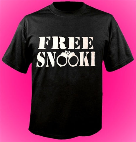 Jwoww wore a shirt that said FREE SNOOKI when she picked her up from jail T-Shirt