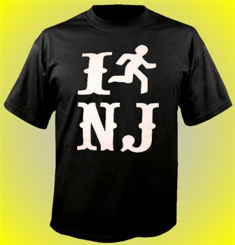 I run NJ T-Shirt
