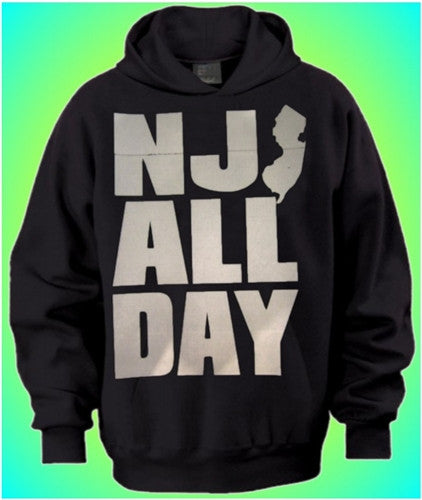 NJ All Day - Hoodie