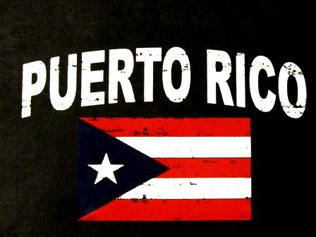 Puerto Rico Black T-Shirt