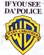 If You See Da' Police.. Warn A Brother  Hoodie