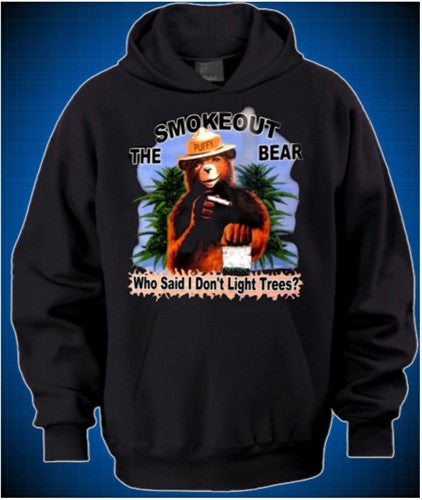 The Smokeout Bear  Hoodie