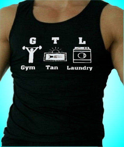 GTL Gym Tan Laundry With Characters Tank Top Men's