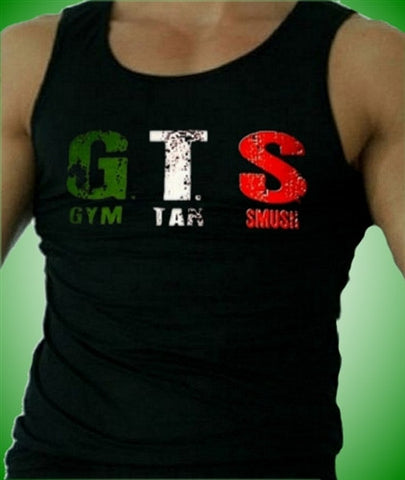 GTS Gym Tan Smush Tank Top Men's