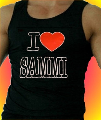 I Heart Sammi  Tank Top Men's