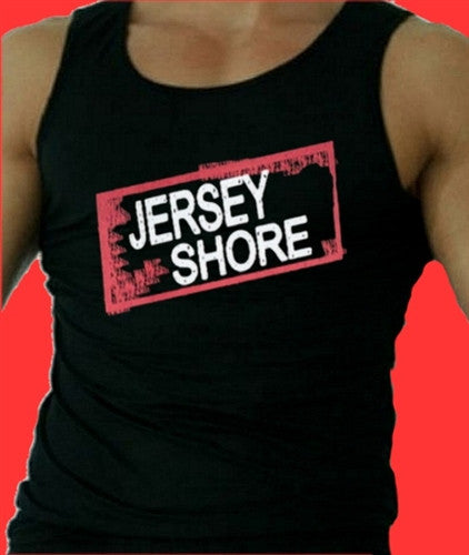 Jersey Shore Logo  Tank Top Men's